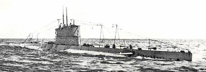 Осназ на подводных лодках